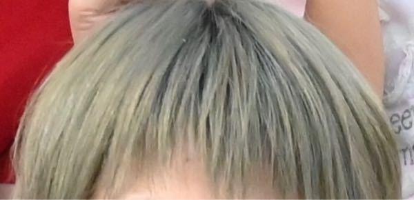 一般的に見てこの髪色は何色に見えますか?