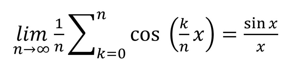 極限の問題です。 下の等式の示し方を教えて下さい。