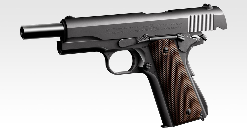 皆さんがいちばんデザインが美しいと思うハンドガンを教えてください。 自分はミーハーかもしれませんが、M1911A1が最高の一挺だと思います。