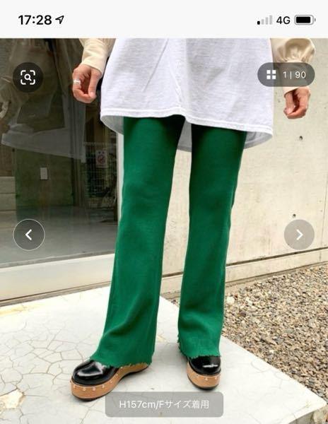 高校2年女子です。 水曜日に遠足があります。 服装の指定が「華美な服装ではないもの」なんですが、このズボンは華美な服装に入りますか?