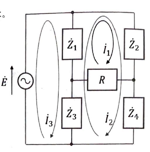 下記画像の電気回路に関する質問です。 画像のように交流回路の場合でも、直流回路と同じように閉路電流法で回路網方程式を立てていいのでしょうか? 交流回路だから気を付けないといけないことなどはありますか?