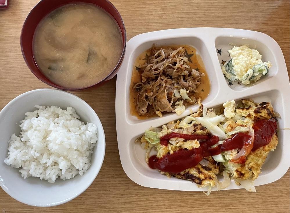 ダイエット中のお昼です。こんな感じでも大丈夫ですか?