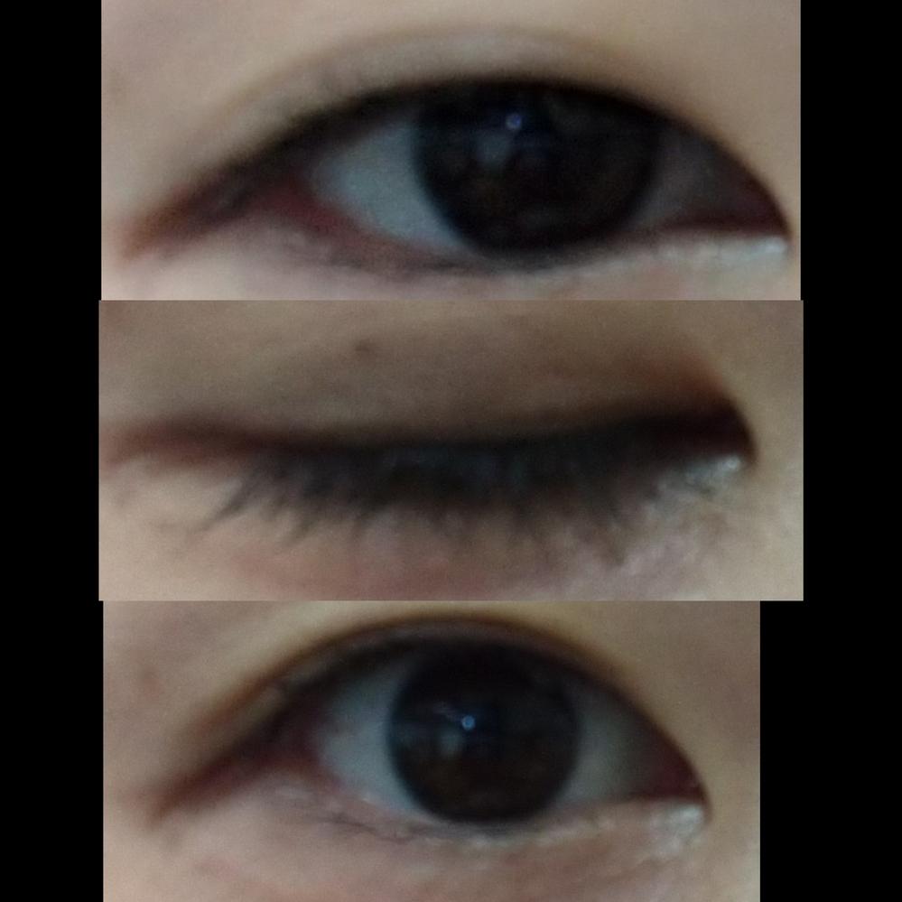 この目って一重ですか?二重に見えますか?