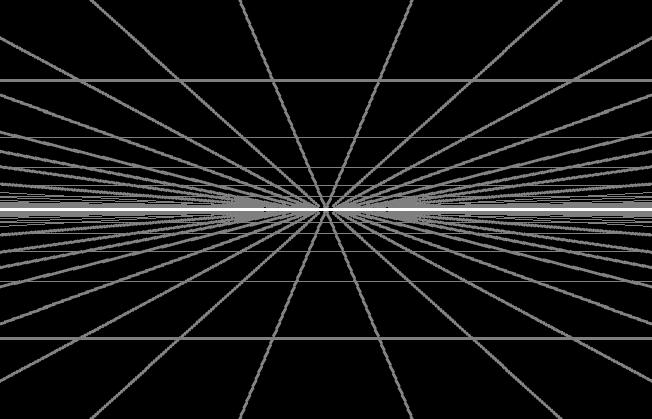 目をつむると真っ暗ではないですよね? いろんなイメージが渦巻いていると思います。 私は物心ついたときから、目をつむると決まって画像のようなイメージが見えます。 同じくこのようなグリットが引かれた地平線のような映像が見える人はいますか? ※私のははっきり見えるわけではなく、補完もあると思います。