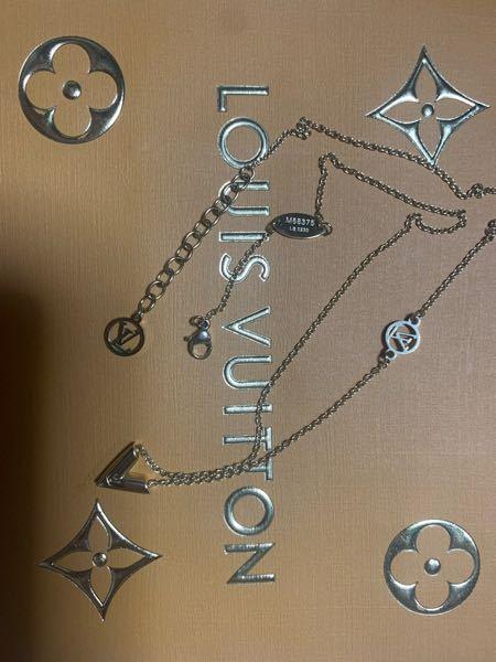 VUITTONのネックレスを買いました。 パッと見偽物だとバレますか?