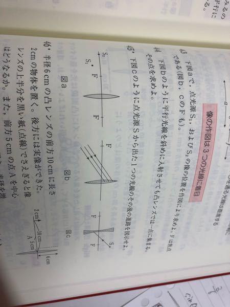 43番の解説でs2に棒状の物体を考えて、その像を求めるとありました。解説では下向きに棒状の物体を置いていましたが上向きに置いてもいいですか?