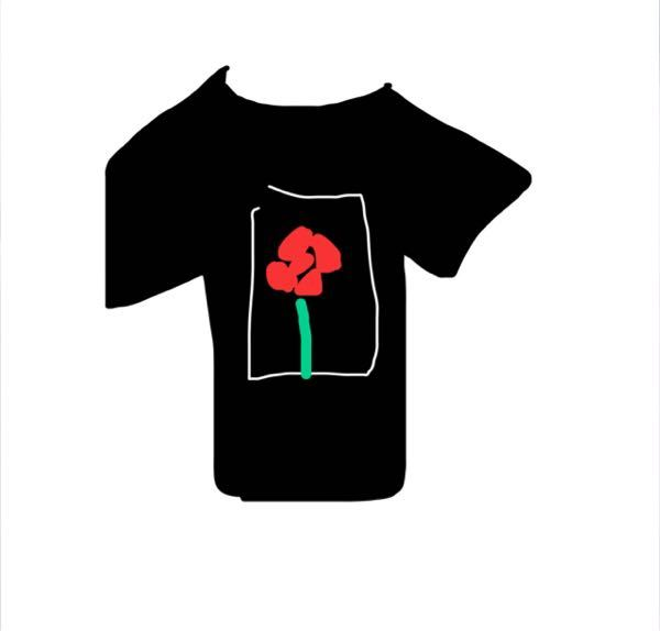 こんな柄のライブTシャツ(ツアーtシャツ)を着ている人をみて、可愛いなと思ったのですが、なんのツアー、ライブかわかる方いますか? こんな絵で申し訳ないのですが、薔薇っぽい赤い花がありました。後はツアー名とおそらく会場?もしくは出演者が縦に2列に書かれていました。