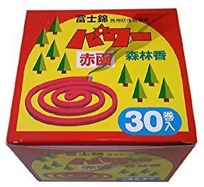 蚊取り線香のケース皿に付いて質問です。現在、アース渦巻ジャンボという商品を使用してますが、ケース皿の直径が16cmあります。 この皿に画像の「富士錦 パワー森林香(赤色)」は収まりますか?