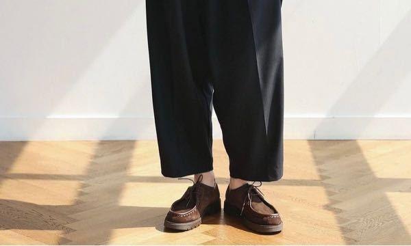 こういう靴ってなんで調べたら出てきますかね?同じような物を購入したいのですが、この形の名前とかありますか?