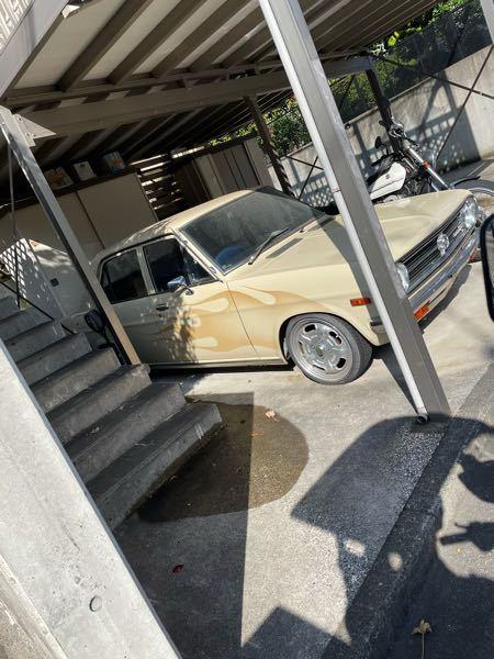 この車なんですか? ダットサンの何かです。