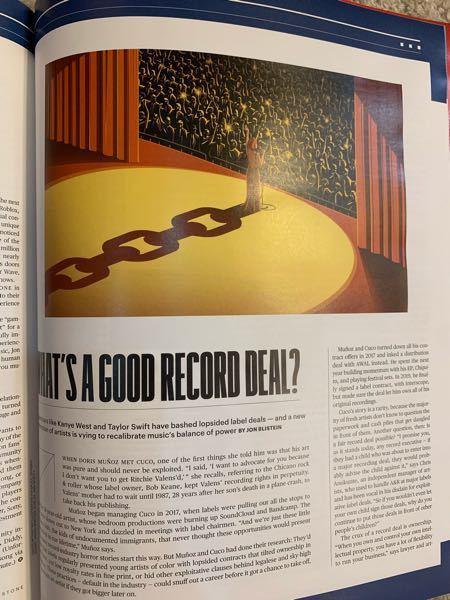 アメリカの雑誌でこのようなものを作る仕事ってなんていうんですか?