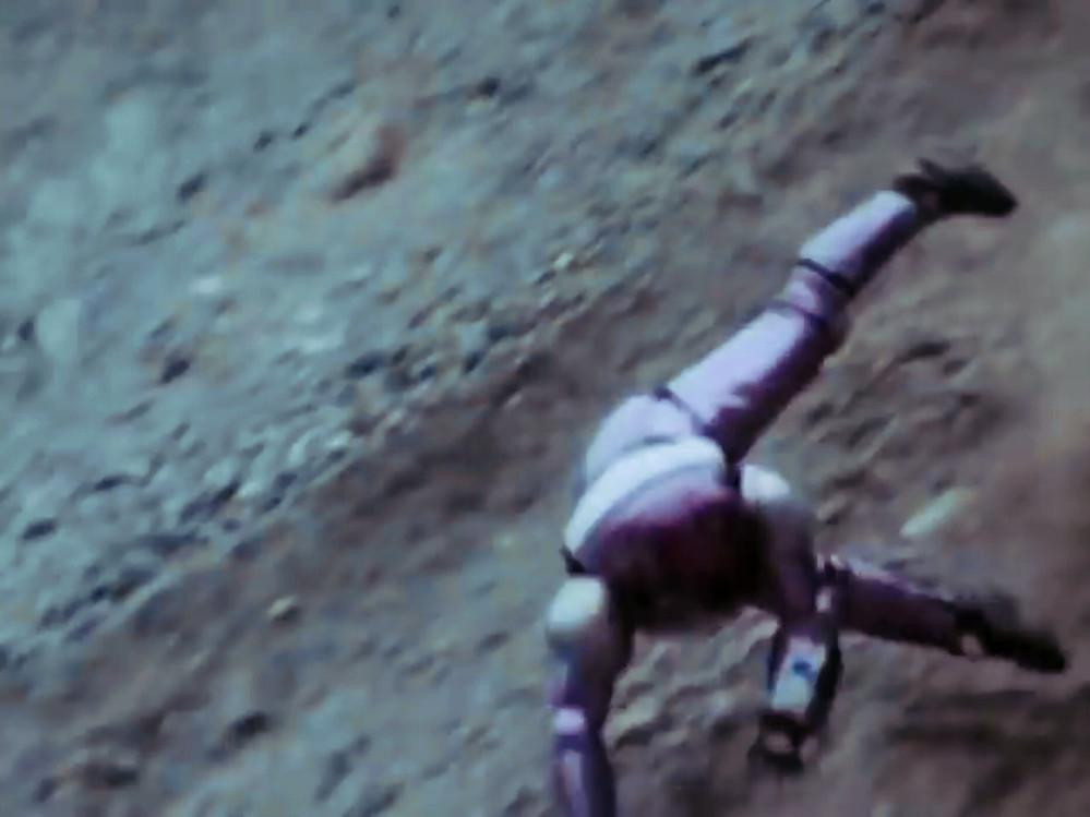 あなたが、次の言葉で思い浮かべるアニメや特撮(作品やキャラクター)は? 「崖から落ちる」