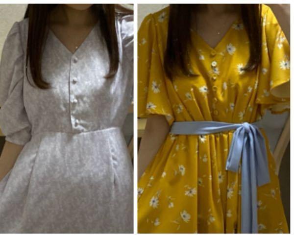 どちらの服装がいいと思いますか?ちなみに大学2年生です。
