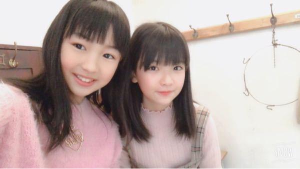 知花ひよりさんの隣にいる女の子は誰ですか。 ジュニアアイドル