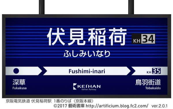 京阪電車の駅名標のデザインは国内トップレベルだと思うのですが、どうですか???あと他にも良い駅名標のデザインの鉄道会社を教えてください。
