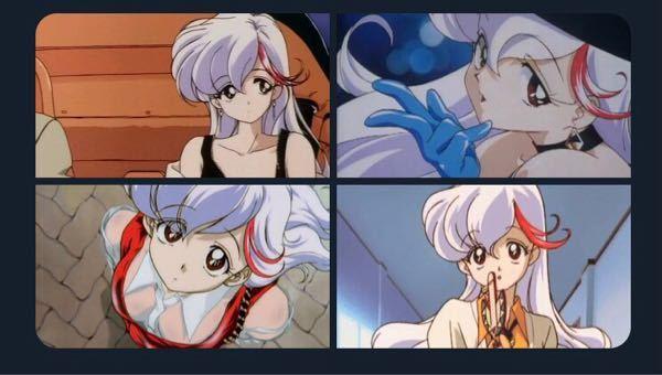 このキャラの名前と登場するアニメを教えてください!