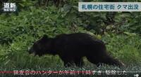 猟友会がクマを仕留めたそうですが、警察の銃はクマに効かないんですか