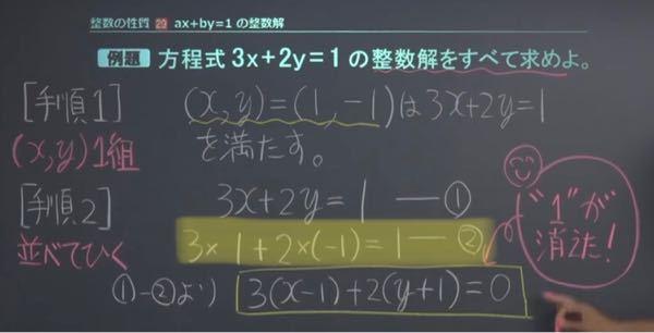 黄色マーカーの部分がわかりません。 馬鹿でもわかるように解説お願いします。 連立方程式もよくわかっていません