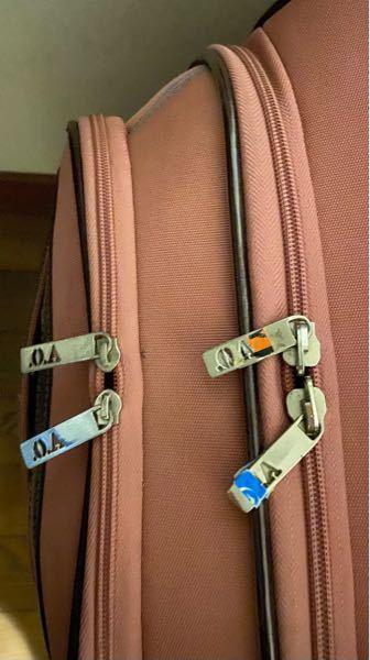 このようなスーツケースは、何処に鍵を付ければ良いんでしょうか?