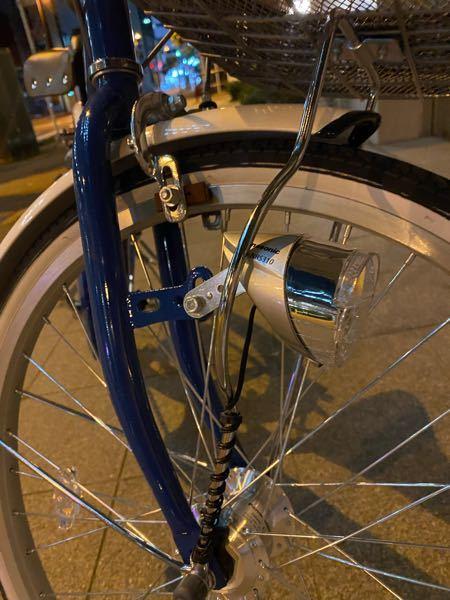 自転車のライトの点灯方法について 自転車を最近購入したのですがライトの点灯方法がわからず困っています。 サイモトの子供用自転車21インチです。 どなたか点灯方法をご存知であれば教えていただけると幸いです。