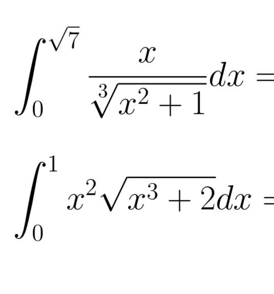 この2つの問題の計算過程を教えて欲しいです! お願いします!