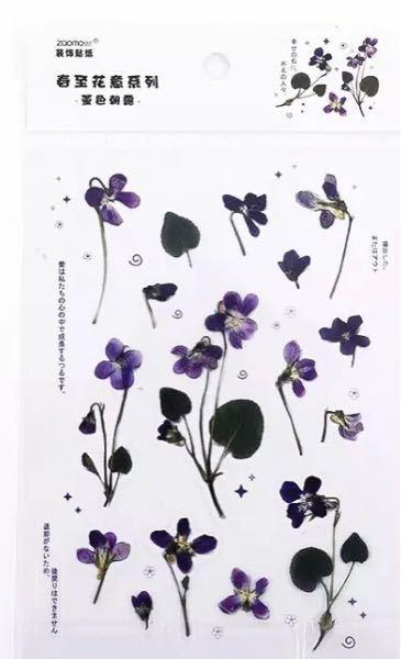 このモチーフになっている花は何の花ですか?