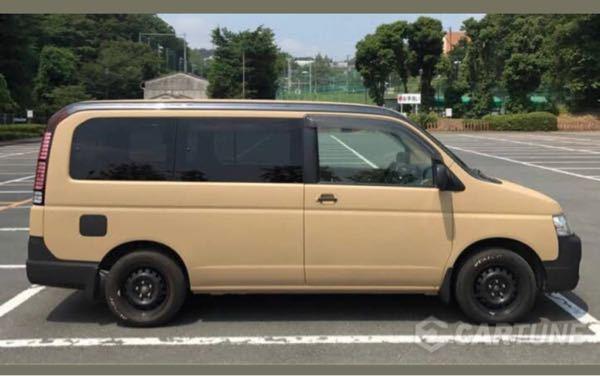 この車の色は何色でしょうか? 塗装がラッピングシートでDIYしたいのですが、色の名前がわからず、、、 お詳しい方、よろしくお願いします。
