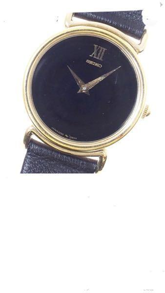 50代男性です。 画像の腕時計はセイコー製だと思いますが、 製品名(品番?)など ご存知でしたら教えて下さい。 高校時代に買ってもらった物を見つけて 懐かしくなりました