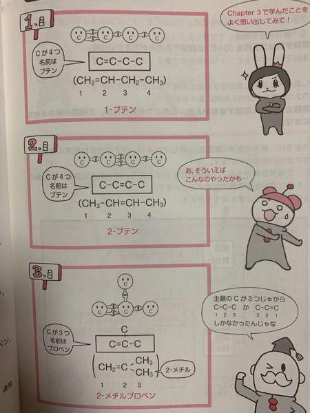 化学の有機化合物の構造異性体の問題なのですが、 このCのあとにつく、Hの数はどうやって決めるのでしょうか?