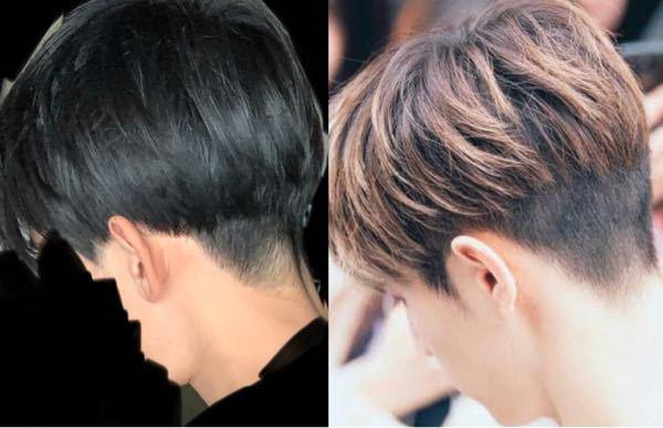 右の写真見せて髪切ってもらったら、左になったんですけどどう思いますか?直してもらうようお願いしたんですけど、右に近づくためにはどうしたらいいんでしょう?
