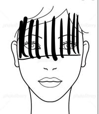 みなさん就活の時の前髪どうされていますか?  いまの髪の毛の長さはこんな感じです。 今度初めて面接を受けるのですが、調べてみるとすごく整った綺麗な前髪ばかり出てきて自分では再現できる気がしません。 どうやってあんな綺麗な前髪にしているんですか? 髪が細くて柔らかいので巻きが取れたり、ケープで固めても無数の束になり(バーコード状)、汚らしくなります。。 1日ずっと拘束されることになる...
