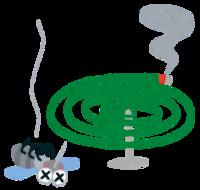 屋外で蚊取り線香てどれくらい効果あります? 煙が風で流されてしまいそうですが…