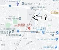 仙台の地図を見ていますが、薬師堂という駅がある線は仙台地下鉄東西線ですが、画像の矢印の線路は何の鉄道ですか? 地図をいくら拡大しても~線とか出てきません。貨物線か何かでしょうか?