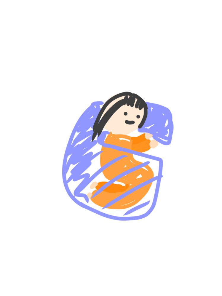 あの、毛布一枚で枕と掛けるのを7みたいな風にして使ってるんですよ、でも誰にも通じなくて、通じてくれてる方、絵に描いてもらえませんか? 下手くそすぎて描いても誰にもわかって貰えなくてもやもやしてるんです