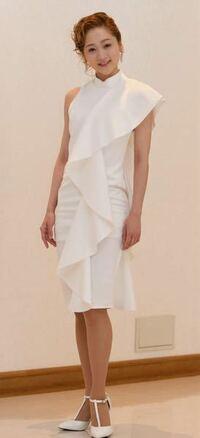 宝塚歌劇団月組トップ娘役、美園さくらさんが着用されていたワンピース(ドレス?)ですが、どこのブランドのものかわかる方いらっしゃいませんか??