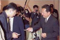 次の横浜市長は、田中康夫氏ですか?