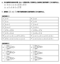 論理回路・論理式についての問題です!わかる方いらっしゃったら回答よろしくお願いします。