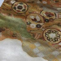 着物素人です。 袋帯の柄の技法に付いて質問させて頂きます。   添付写真の様な織物でないプリントしたみたいな柄の事は何と言う技法なのでしょうか?  知りたいので宜しくお願い致します。