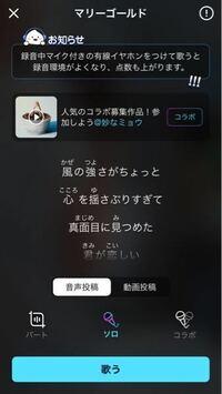 ポケカラとういうアプリなのですが、一人で練習したいのですがこのアプリは歌うと勝手に投稿されてしまうのですか? 音声投稿と動画投稿のボタンがあって投稿しない枠がないのですが、投稿しない方法があれば教えて下さい。