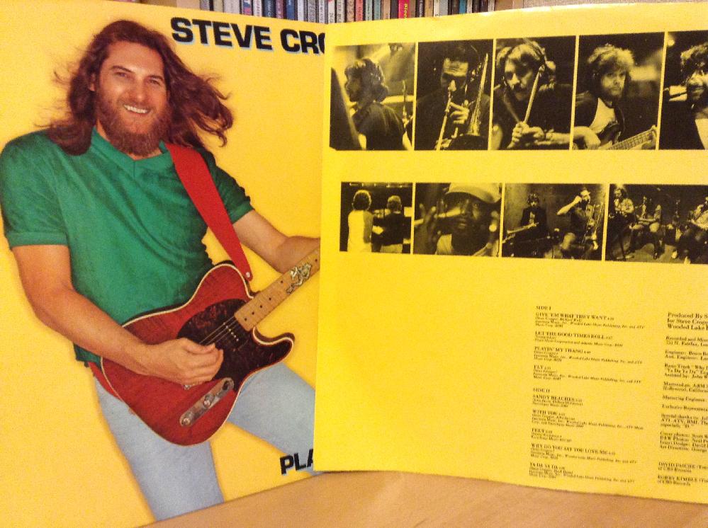 ♪今日7月17日は(ほぼ終わりですが)RECORD STORE DAY だそうです。 ラジオ聴いてて知ったんですが、レコードストアの文化を祝い、宣伝し、店舗を活性化し、レコードを手にするよろこびや音楽の楽しさを共有する・・日だそうです。 そこで、CD化されていないレコードでお好きな一枚教えてください。 一曲貼っていただけると嬉しいです。 私はSteve Cropperの『Playin' My Thang』リリースされてから約5年後くらいに見つけてBlues Brothersの人や!で購入しました。(←Booker T. & the M.G.'sなどはまだ知らない。(笑)) 洋楽でお願いします。 (もう日付が変わるかも(^-^;)