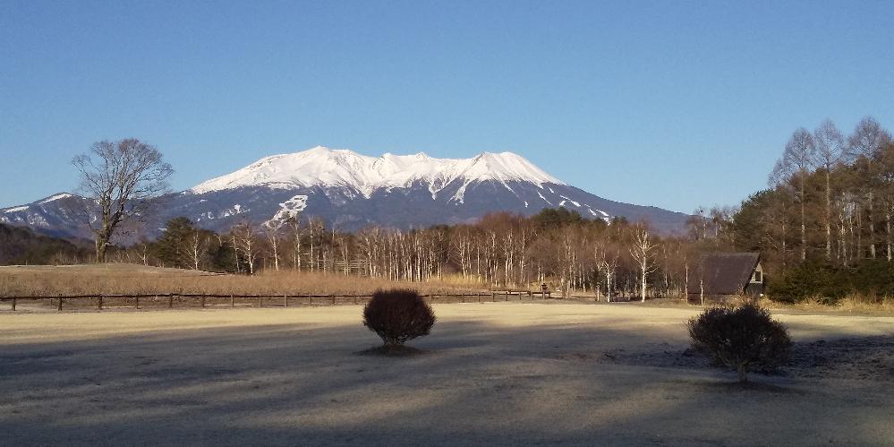 僕が撮った御嶽山です。 綺麗ですか?