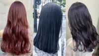 美容師さんに質問です! この中で、ブリーチ無しでできるヘアカラーありますか? 左から ピンクブラウン ブルーブラック ラベンダーアッシュ です。