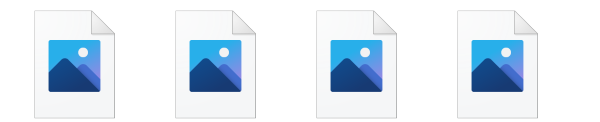 PCを久しぶりに起動したらデスクトップ上にあった画像とファイル内の画像が、表示されなくなってました、クリックすれば画像は開けます。解決法を教えてください。
