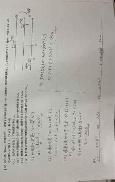 この問題の最後の二つはなぜ正になるのかがあまり理解できません。ベクトルなので正になると思ったのですが、、
