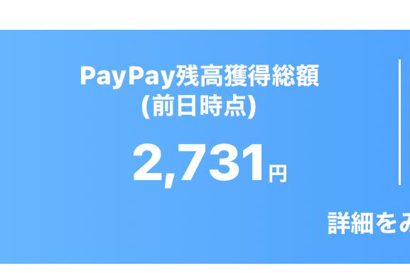 写真のPayPay残高獲得金をチャージする方法を教えてください。、