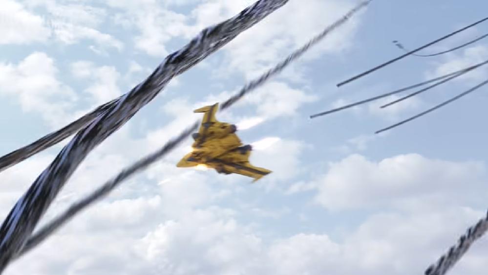 アニメや特撮作品の中で「リモート(遠隔操縦)で動かすマシン・ロボ」と聞き、思い浮かべるのは何ですか? 下記は『パイロットのヒマリの遠隔操縦により、怪獣を攻撃するGUTSファルコン』です。