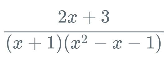 部分分数分解について質問です。 画像のような式にヘビサイドの展開定理を適用することはできますか?