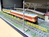架空鉄道の遊びで、キハ23+キハ58の快速列車を組んでみました 芸備線の広島口の速達列車をイメージしました 同じく、この様な架空鉄道で、ありえないけど雰囲気感じる編成組まれている方おられたらどんなもの組まれているか、教えて頂けると嬉しいです