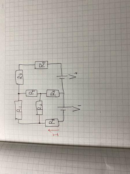難問 至急お願いします! この問題の電流Iを、キルヒホッフで、できればテブナンでも解いて欲しいです。 自分がといてもループしてしまって解けないです。助けてください