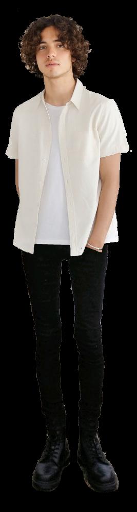 このモデルさんの服装真似したいのですが、ダサいですか?